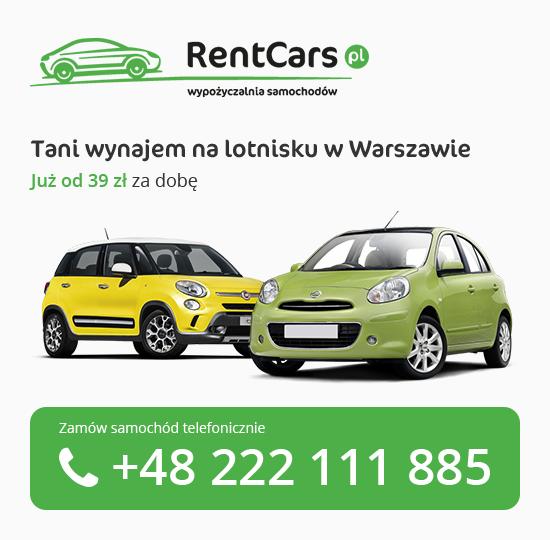 Wypożyczalnia Samochodów Lotnisko Warszawa Okęcie